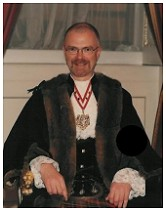 Roderick Somerville (Proprietor) - Pictured during his term of office (Nov. 2002-03) as Master of the Worshipful Company of Makers of Playing Cards